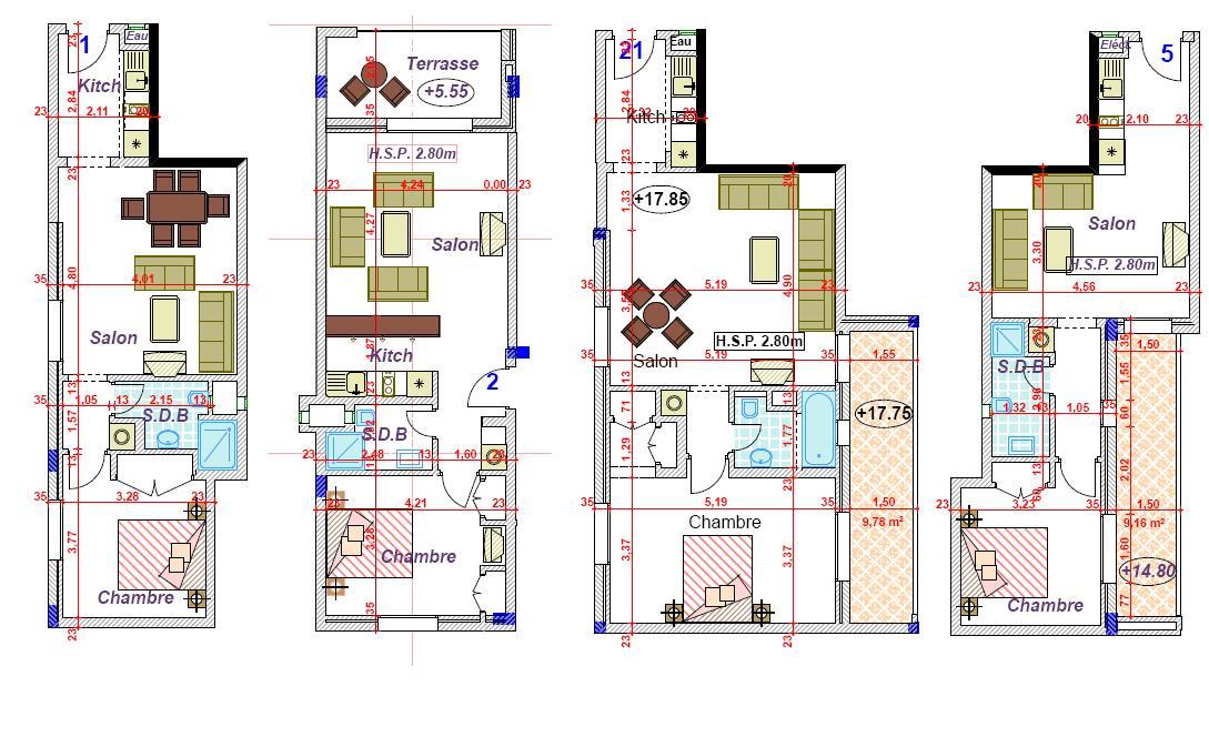 Plan D Une Maison De 100m2 Au Maroc Ventana Blog