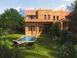 Villas de haut standing cadre verdoyant avec piscine - Vue sur Atlas